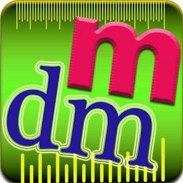 Decimeter and Meter (dm & m) Convertor