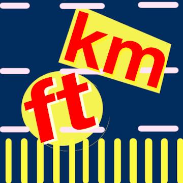 Kilometer and Foot (km & ft) Convertor