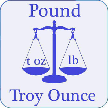 pound to troy ounce