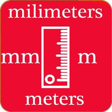 Milimeter and Meter (mm & m) Convertor