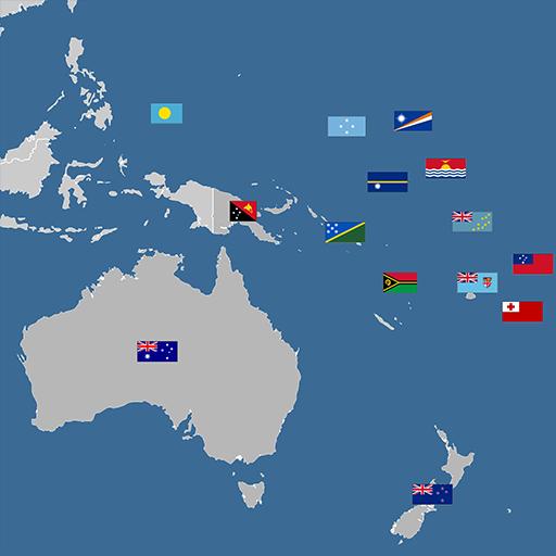 Oceania countries