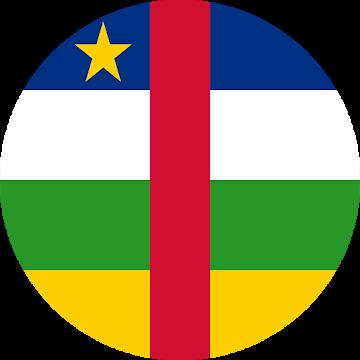 Central African Republic (CAR) flag